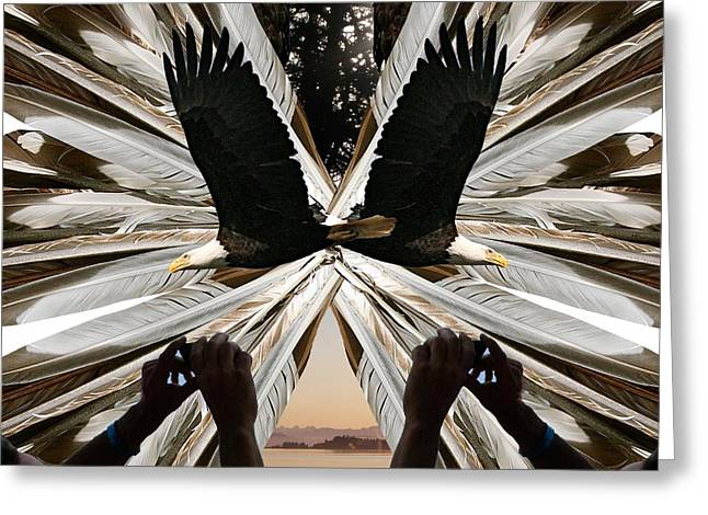 Eagle's Song Greeting Card