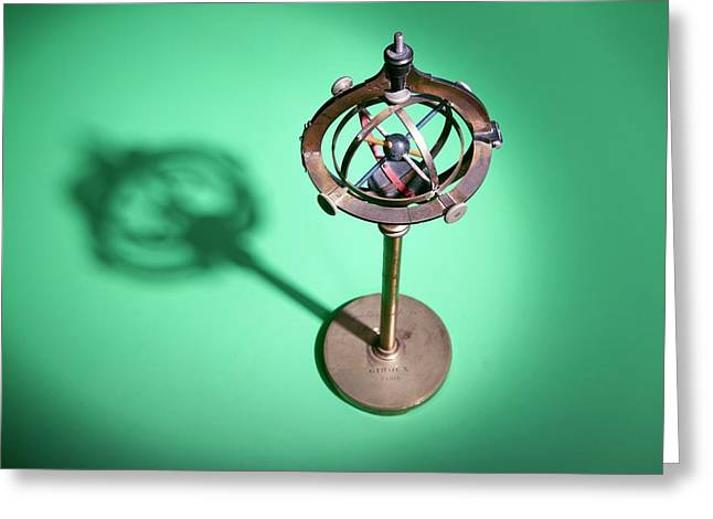 Early 20th Century Ophthalmology Device Greeting Card by Mark Thomas/science Photo Library