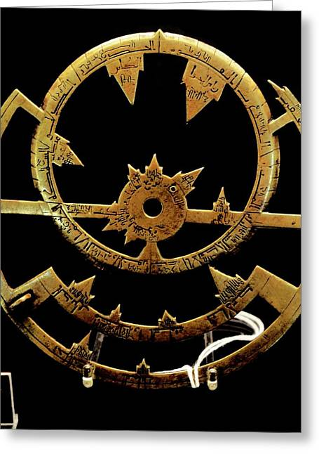 Early Astrolabes Greeting Card by Universal History Archive/uig