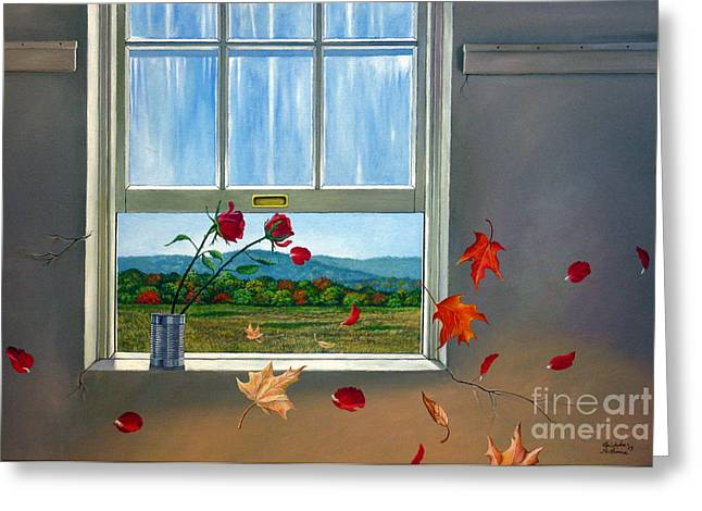 Early Autumn Breeze Greeting Card by Christopher Shellhammer