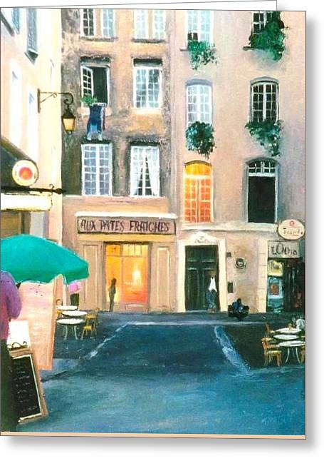 Early Evening In Paris Greeting Card