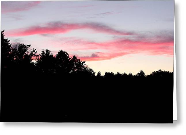 Early Fall Sky Ix Greeting Card by Brian Lucia