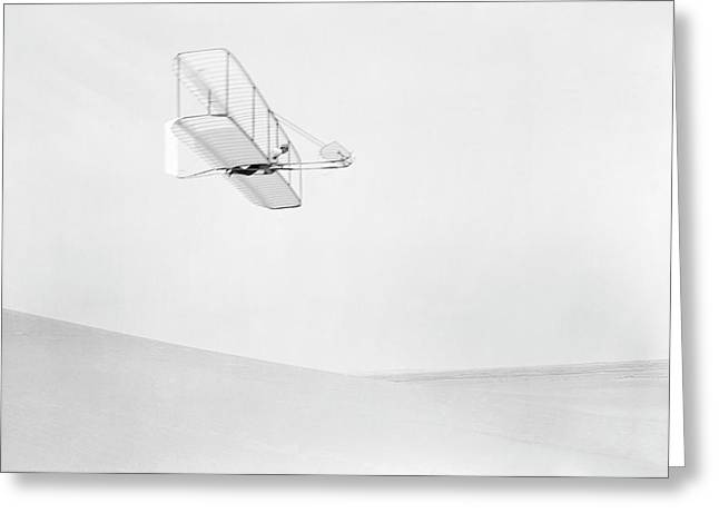 Early Glider Greeting Card