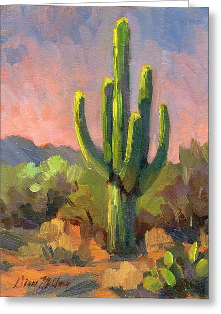 Early Light Greeting Card by Diane McClary