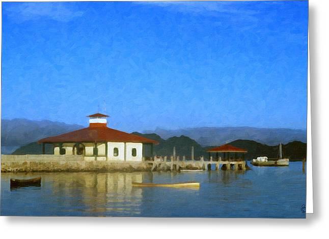 Early Morning At The Lake Greeting Card