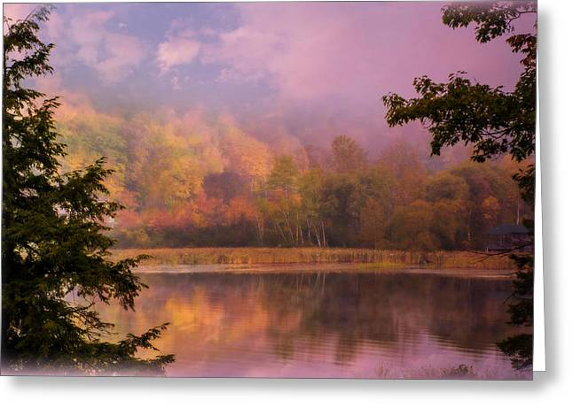 Early Morning Beauty Greeting Card by Sherman Perry