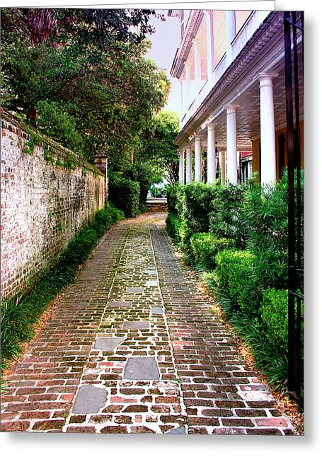 Early Morning Charleston Sc Greeting Card by William Dey