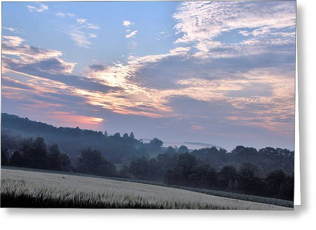 Early Morning Greeting Card by Gary Pavlosky