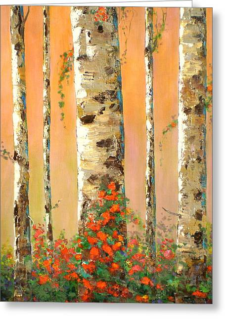 Early Morning Greeting Card by Marilyn Hurst