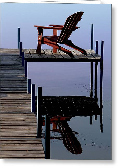 Greeting Card featuring the photograph Early Morning Peace by Kathleen Scanlan