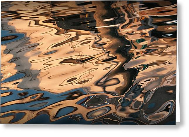 Greeting Card featuring the photograph Early Morning Reflections by Phil Mancuso