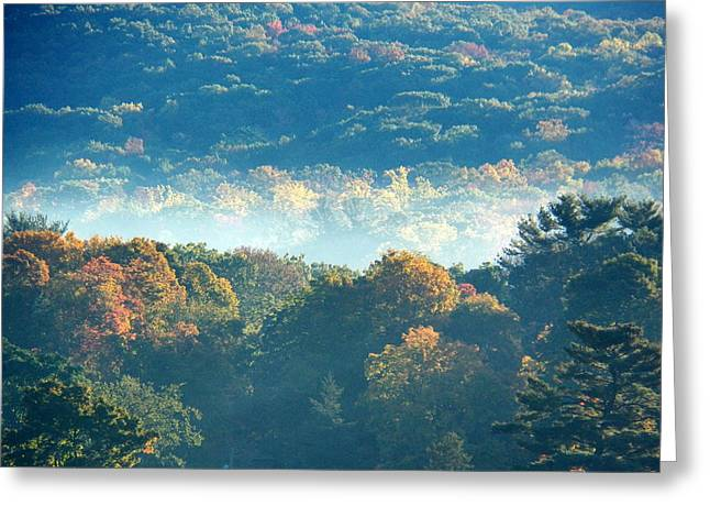 Greeting Card featuring the photograph Early Morning by Steven Huszar