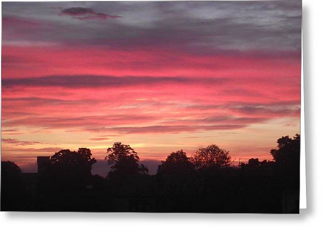 Greeting Card featuring the photograph Early Morning Sunrise 2 by Martin Blakeley
