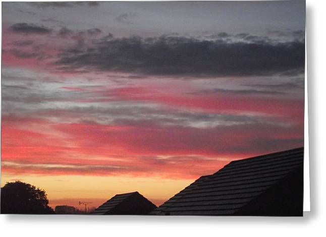 Greeting Card featuring the photograph Early Morning Sunrise 4 by Martin Blakeley