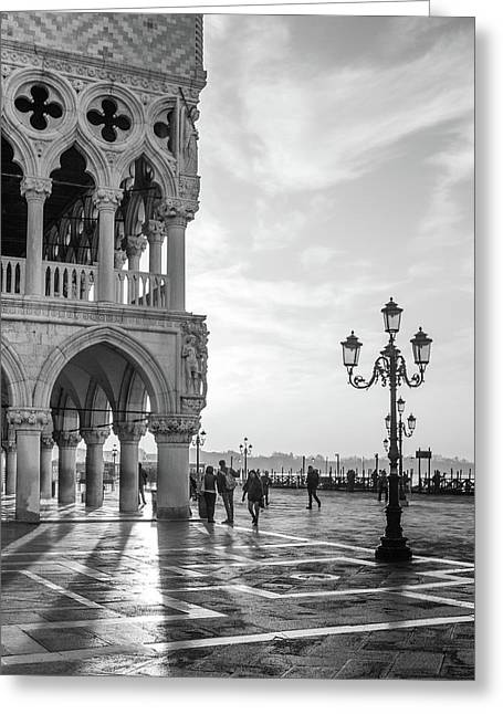 Early Morning - Venice Greeting Card