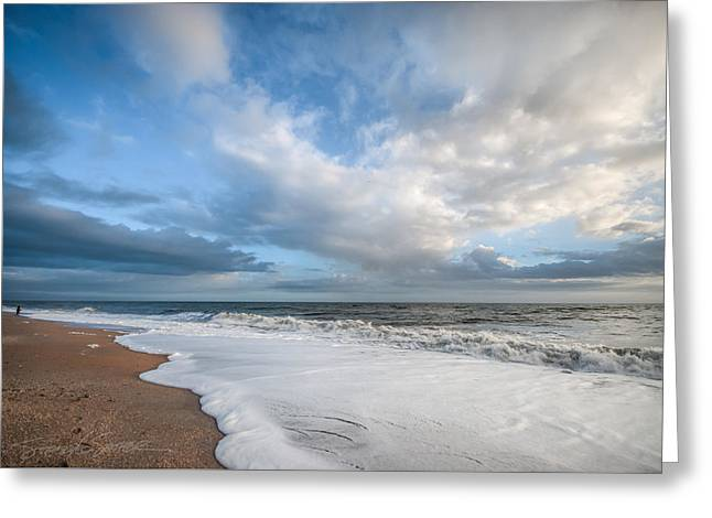 Early Morning Vilano Beach Greeting Card