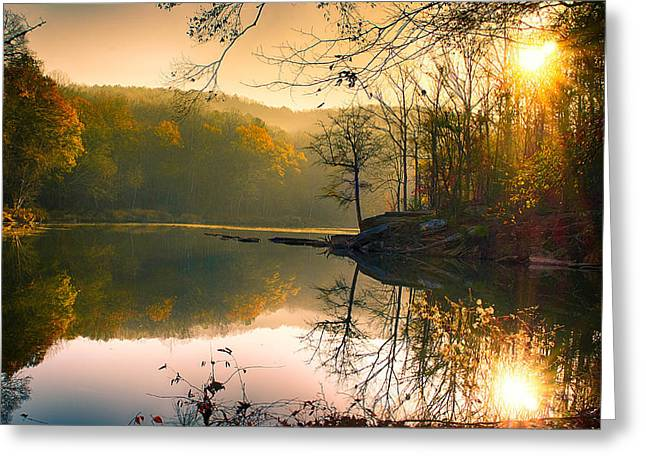 Early Morning Greeting Card by Vincent  Dale