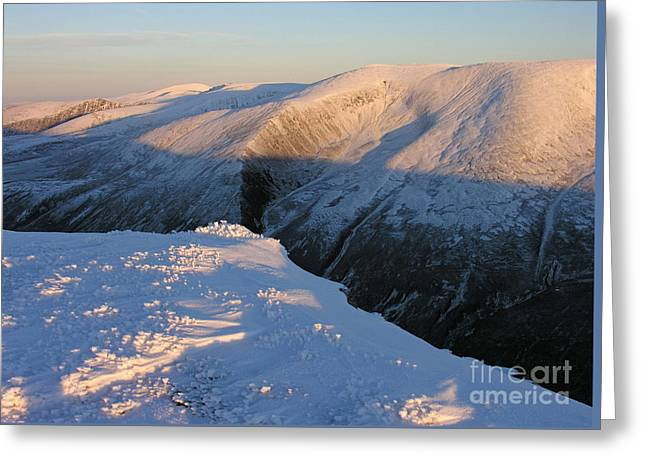 Early Winter Cairngorms Greeting Card