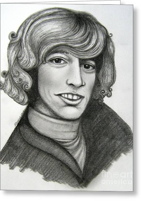 Robin Gibb Greeting Card