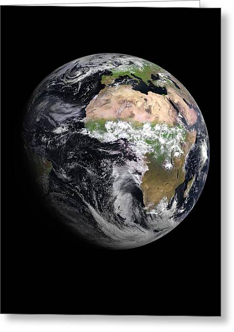 Earth Greeting Card by European Space Agency/eumetsat