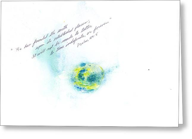 Earth Forever Greeting Card by B L Qualls
