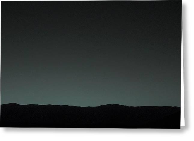 Earth From Mars Greeting Card by Nasa/jpl-caltech/msss/tamu
