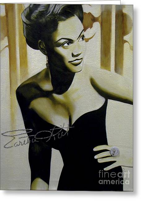 Eartha Kitt Greeting Card