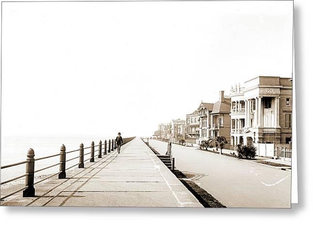 East Battery, Charleston Greeting Card