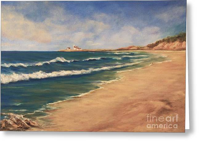 East Beach Watch Hill  Greeting Card