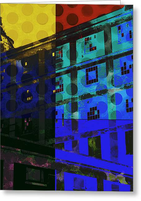 East Central Avenue Greeting Card by Ann Powell