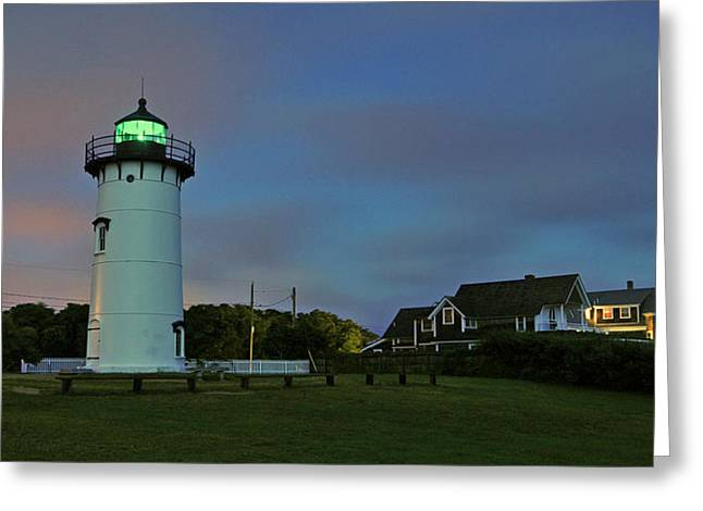 East Chop Light Greeting Card by Dan Myers