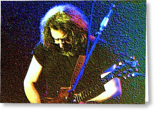 Grateful Dead - East Coast Tour - Jerry Garcia Greeting Card