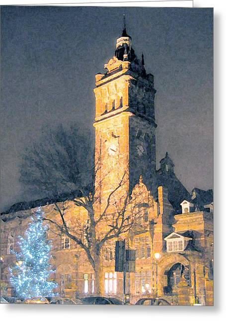 East Ham Town Hall Greeting Card