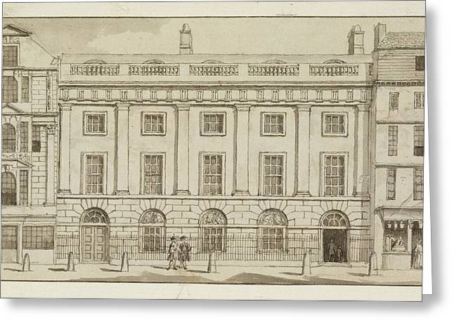 East India House In The City Of London Greeting Card