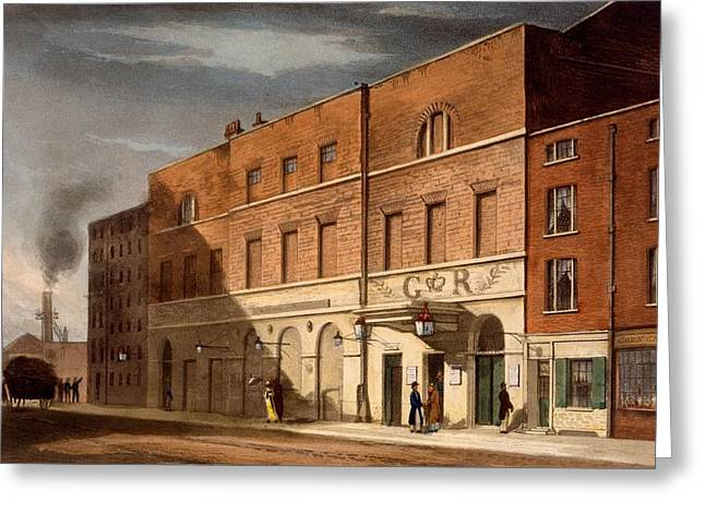 East London Theatre, Formerly The Greeting Card by Daniel Havell