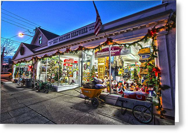 East Moriches Hardware Greeting Card