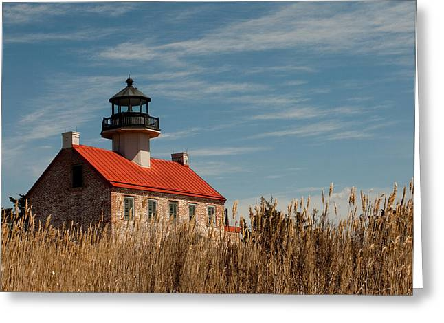 East Point Across The Marsh Greeting Card