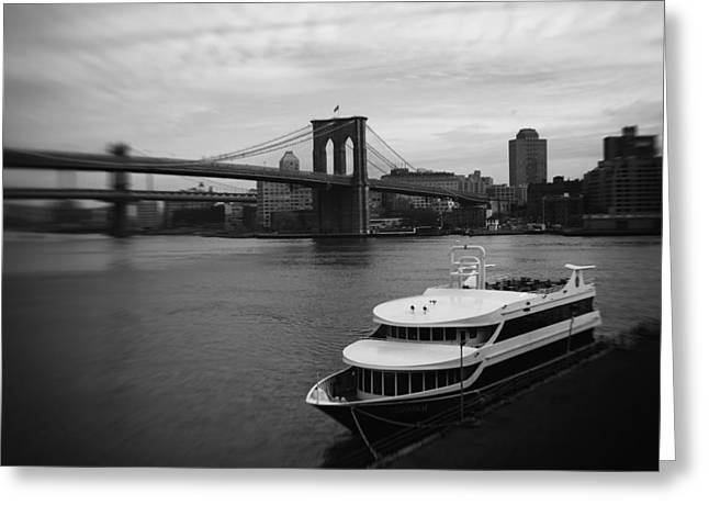 East River Afternoon Greeting Card by Ben Shields