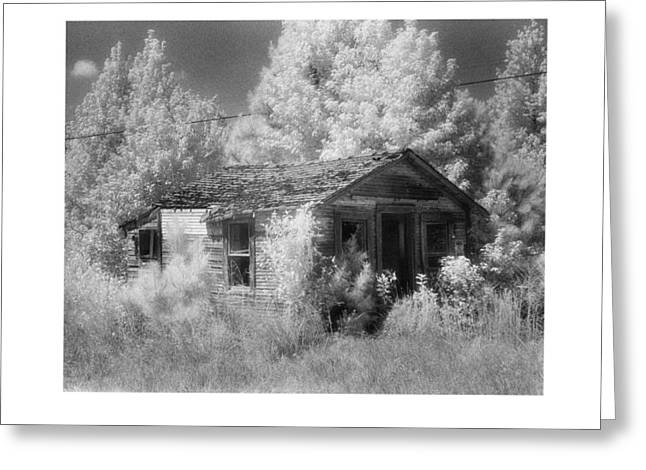 East Texas Cabin Greeting Card