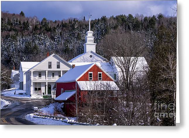 East Topsham Vermont. Greeting Card