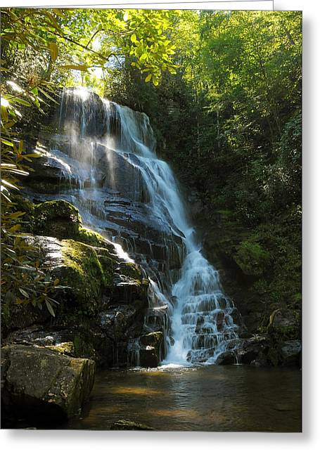 Eastatoe Falls North Carolina Greeting Card