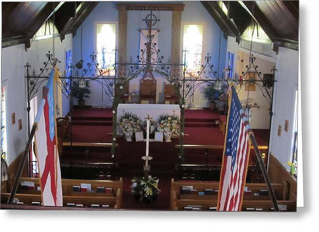 Easter Altar Greeting Card