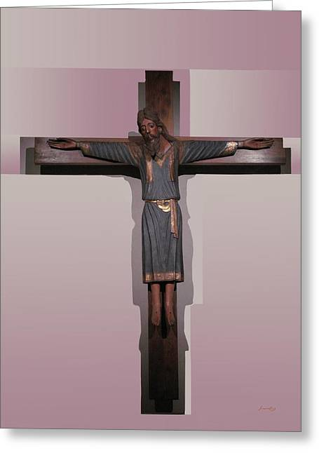 Easter Pasqua Croce Di Gesu Cross Of Jesus Greeting Card