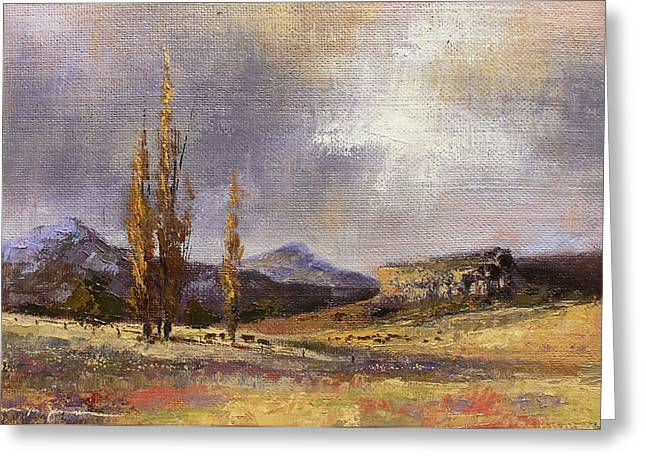 Eastern Free State Scene Greeting Card