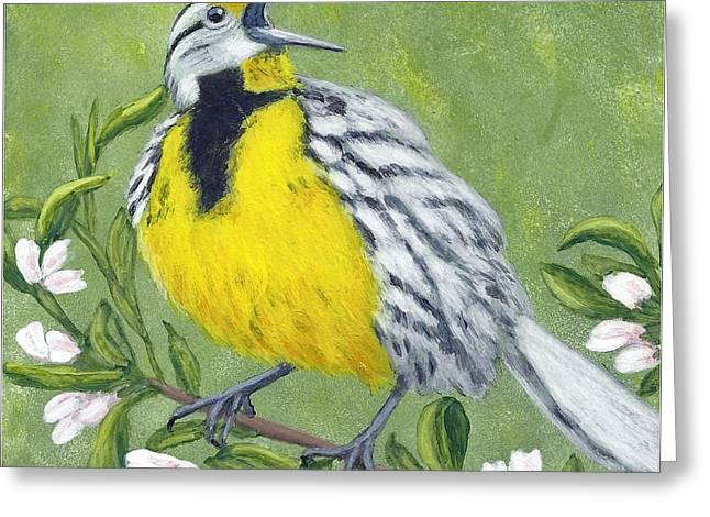Eastern Meadowlark Greeting Card