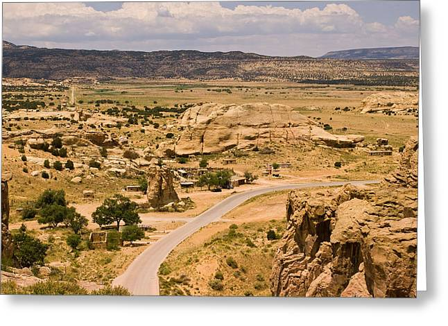 Eastern Mesa View Greeting Card