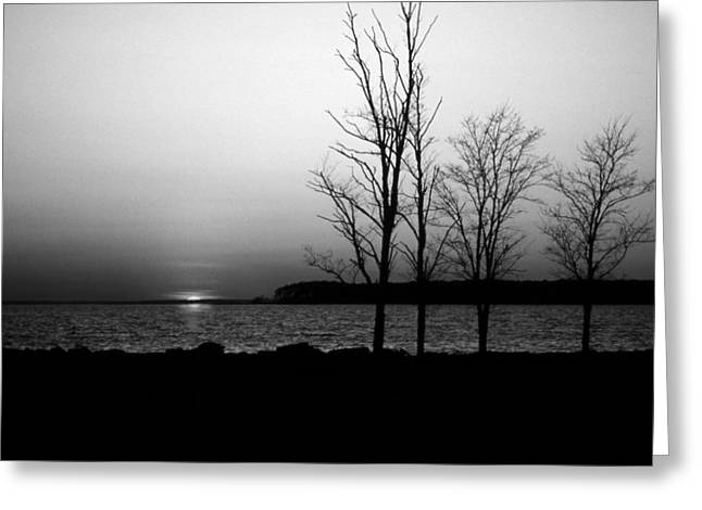 Eastern Shore Sunset Greeting Card