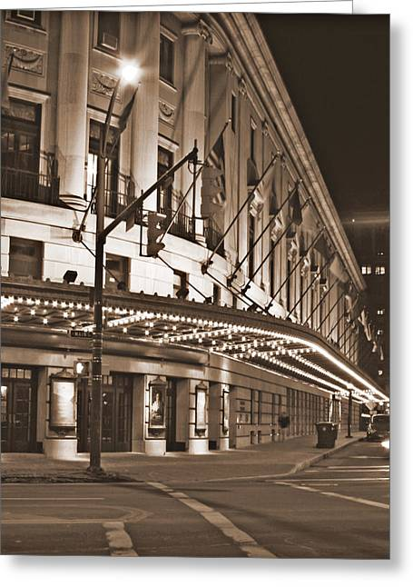 Eastman Theater Greeting Card