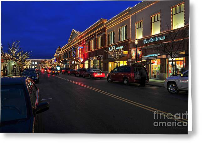D65l-123 Easton Town Center Photo Greeting Card