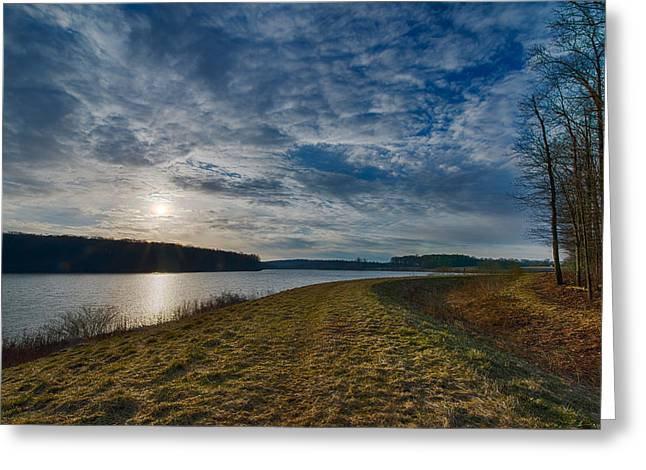 Eastward Over Chambers Lake Greeting Card